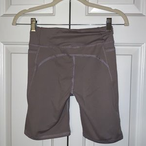 Urban Outfitters Spandex Biker Shorts - Grey